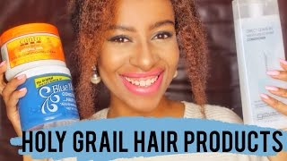 Hey lovelies! These are the hair products I literally can't do without! I hope you can start using some of these in your hair journey...