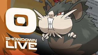 Pokemon Sun and Moon! Showdown Live: Enter Alolan Raticate - Alolan Raticate Showcase! by PokeaimMD