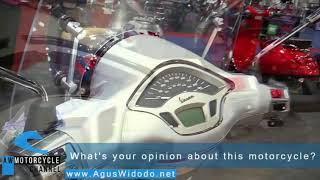 10. Vespa Primavera 150 Touring Scooter 2017 Give Motorcycles Review for 2018 & 2019 Better