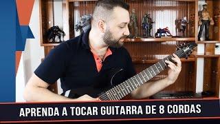 Dicas para tocar guitarra de 8 cordas