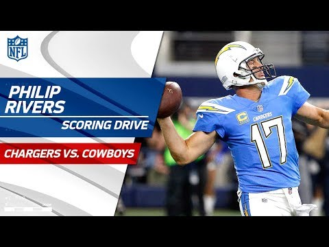 Video: Philip Rivers Cooks Up a Scoring Drive, LA Takes the Lead!   Chargers vs. Cowboys   NFL Wk 12