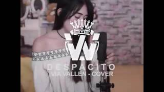 DESPACITO Keren Abis!!! Dangdut Koplo - Cover By VIA VALLEN