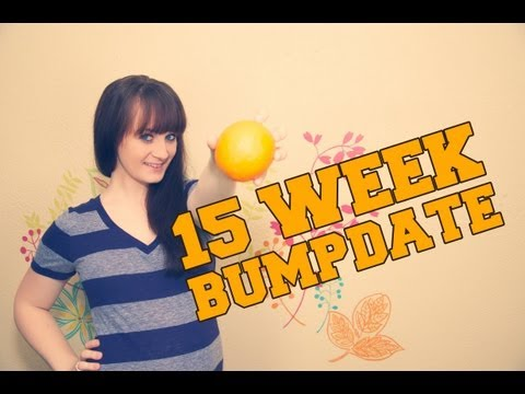15 WEEK BUMPDATE & BELLY SHOT – Pregnant After Stillbirth  – The Bumps Along the Way