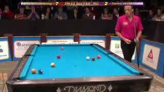 Amazing Van Boening And Orcollo Shots From US Open 9-ball 2012 Final Stage