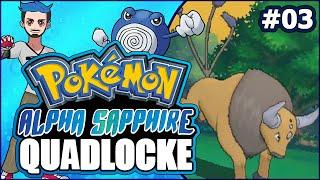 03   A WHOLE LOAD OF BULL   Pokémon Alpha Sapphire Randomizer Quadlocke by Ace Trainer Liam
