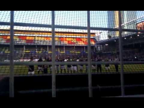 AIK-Gais 2012: Firandet med spelarna