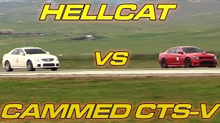 Hellcat Charger vs Cammed CTS-V
