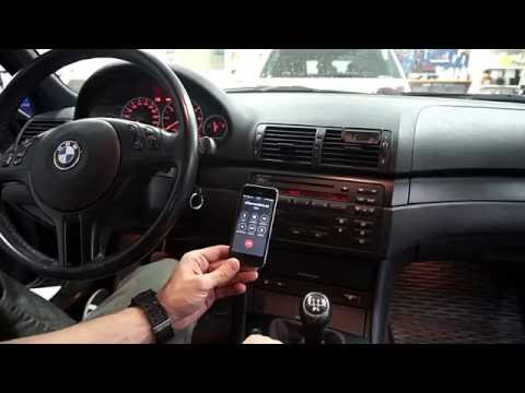 Bluetooth handsfree & musik BMW 3 serie E46 2004 med Business CD
