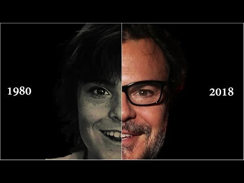 Transformation of Jack Black | Face Morph (1980 - 2018)