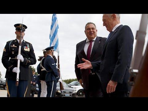 Τζέιμς Μάτις: «Σταθερός και εξαιρετικός σύμμαχος η Ελλάδα»…