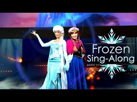 Frozen Sing-Along – Disneyland Paris