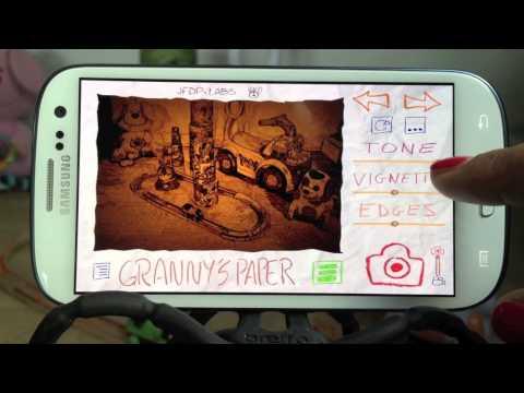 Video of Paper Camera