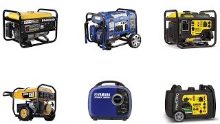 6. Top 10 Best Powered Portable Generator 2019