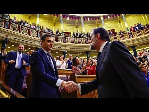 Spanien: Sturz von Rajoy - Pedro Sanchez wird neuer Regierungschef
