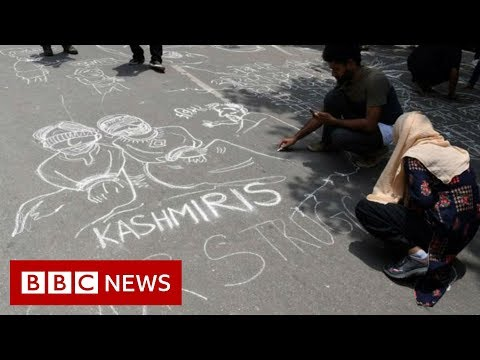 Kashmiris express anger at loss of special status – BBC News