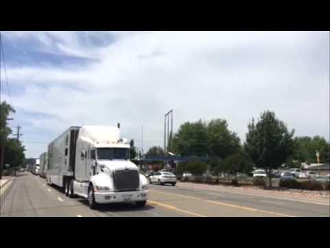 NASCAR parade through Anderson (видео)