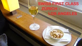 NEW First Class Service by SWISS INTERNATIONAL AIRLINES  Spot Check or Spot Check flights from - to  Of a certain class...