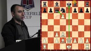Chess for Beginners with GM Varuzhan Akobian (Kasparov Miniature and Tactics/Endgames) - 2013.10.06