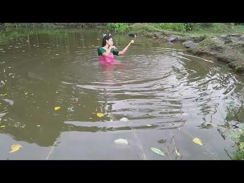 Assamese film song//bakor putek//malabika and krishnakhi///my first Assamese cover video song