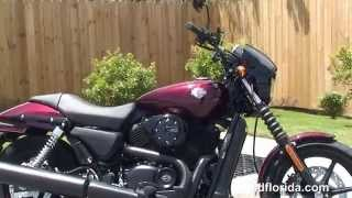7. New 2015 Harley-Davidson 500 and 750 Street new Model
