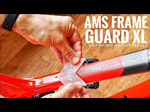 AMS Frame Guard XL Unboxing & Install (видео)