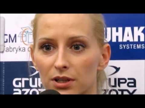 Konferencja prasowa po meczu półfinałowym play-off Chemik Police - Tauron Banimex Dąbrowa Górnicza. 31.03.2014.