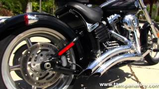 5. 2009 Harley Davidson FXCWC Softail Rocker C Motorcycle for sale in Panama City Beach USA