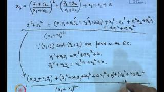 Mod-01 Lec-36 Implementation Of Elliptic Curve Cryptography