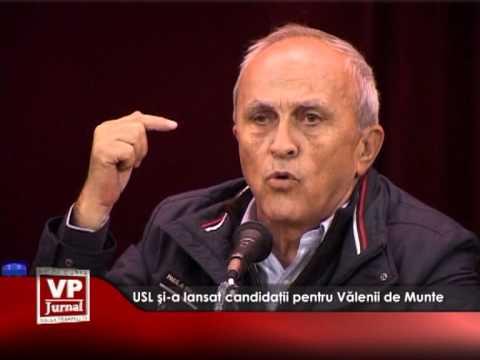 USL și-a lansat oficial candidații pentru Vălenii de Munte