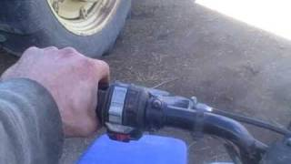 3. How to drive a manual transmission ATV