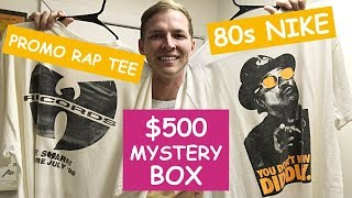 Video I BOUGHT A $500 BOX OF VINTAGE CLOTHING TO RESELL ON EBAY! MP3, 3GP, MP4, WEBM, AVI, FLV Juni 2019