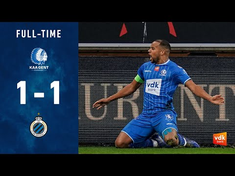 KAA Koninklijke Atletiek Associatie Gent 1-1 Club ...