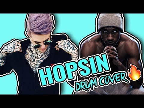 Hopsin - The Purge ( Jon Hill Drum Cover🔥)