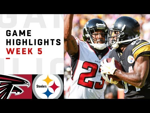 Falcons vs. Steelers Week 5 Highlights  NFL 2018