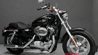 9. 2013  HARLEY DAVIDSON  XL1200C SPORTSTER 1200 CUSTOM  - National Powersports Distributors