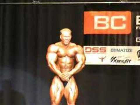 Pro Bodybuilder Dennis Wolf Guestposing In Oct. 2007