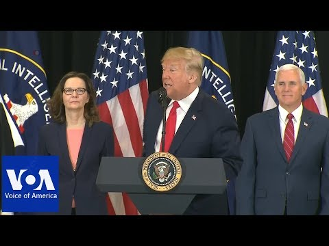 Haspel Sworn in as New CIA Director
