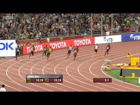 Final de infarto en los 200 mts Beijing 2015