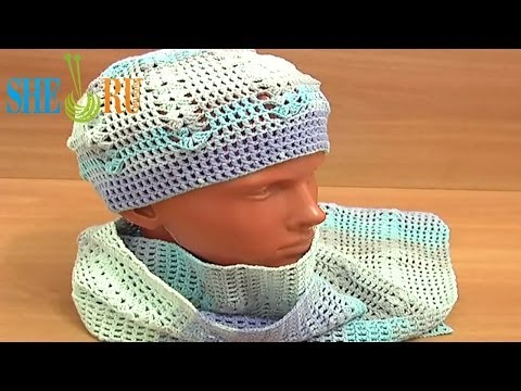Easy Crochet Hat Pattern Crochet Scarf Tutorial 4 Part 1 of 3 Crochet Summer Hat