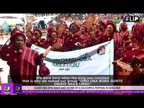 OJUDE OBA 2018: SIGHTS AND SOUNDS OF A COLOURFUL FESTIVAL IN IJEBU-ODE