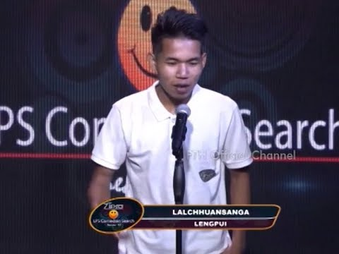 Lalchhuansanga Zipro  LPS Comedian Search 2018 Finalist