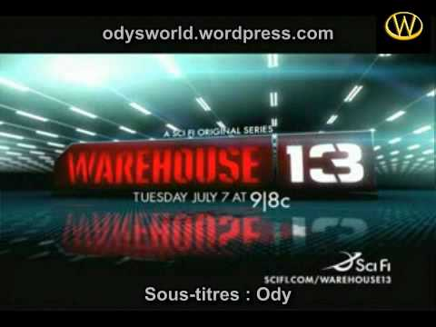 Official Trailer for Warehouse 13 VOSTFR