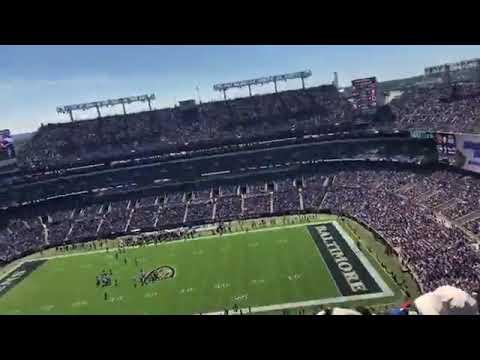 Baltimore Ravens September 15, 2019. Vs. Cardinals