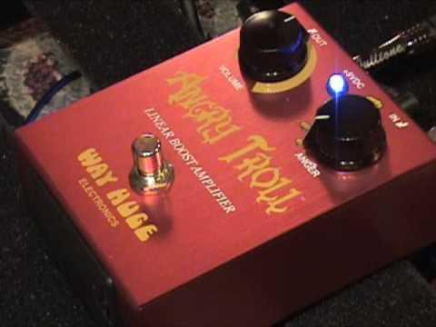 gearmanndude ANGRY TROLL preamp boost guitar effec