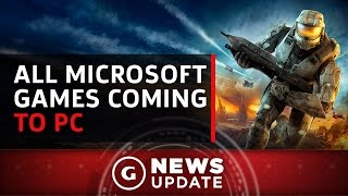 All Future Microsoft Games Are Coming to Both Xbox One and PC - GS News Update by GameSpot