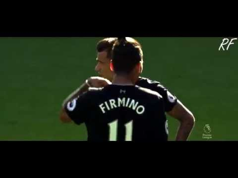 Philippe Coutinho Free Kick Goal VS Arsenal