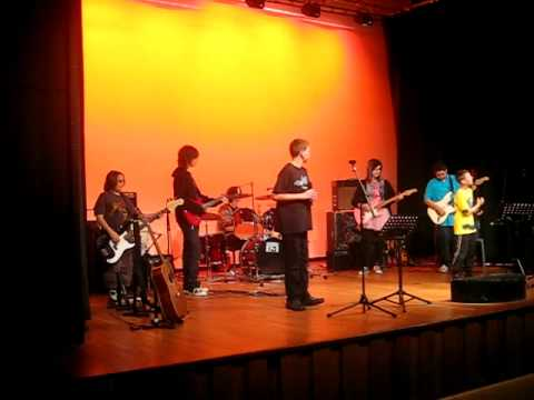 Jake Warner friern barnet rock school wild thing