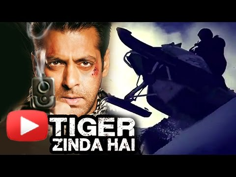 Salman Khan Doing Action In Tiger Zinda Hai FIRST