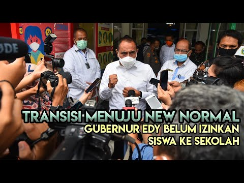 Transisi Menuju New Normal di Sumatera Utara