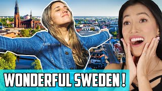 Video 15 Facts About Sweden Reaction | We Want To Travel There! Swedish Meatballs! Ikea! ABBA! download in MP3, 3GP, MP4, WEBM, AVI, FLV January 2017